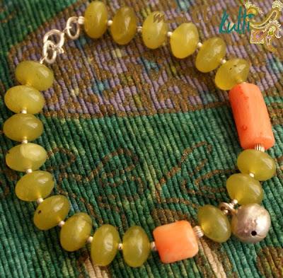 bransoletka z jadeitu