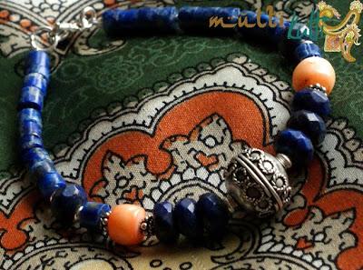 lapis lazuli: bransoletka etniczna