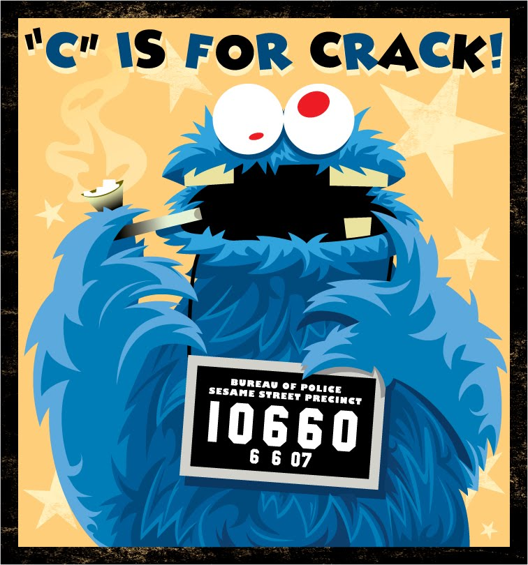 Art Jumble Blog Week 198 Cookie Monster