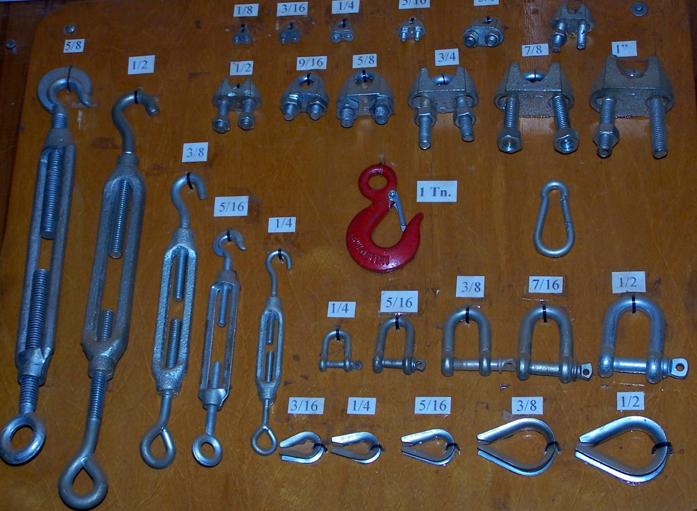 Cosas buscadas hierros el puente s a 1 cables de - Tensores de acero ...