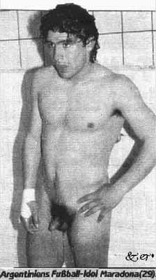 maradona nude Diego