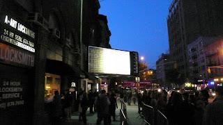 Ambiente en uno de los cines del Festival de Tribeca 2008, en Nueva York. c. Diego Olivé.