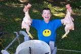 Backyard Poultry Processing With My 11-Year-Old Son