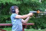 Shooting Dad&#39;s Handgun