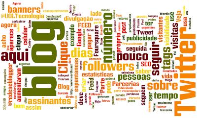Tags do Redes e Blogger