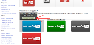 Ícones Oficiais do YouTube para Download