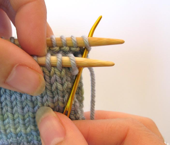 Kitchener Stitch Purl Knit : Nelkin Designs Blog: The Zen of Kitchener Stitch!