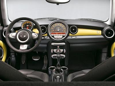 2009 Mini E Interior