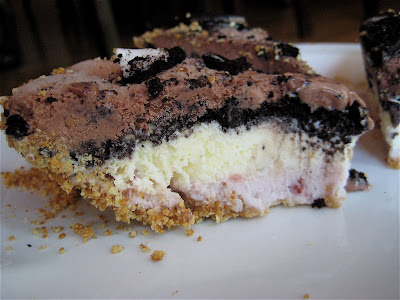 Lookie at my Cookies: Neapolitan Ice Cream Pie - nosh and tell