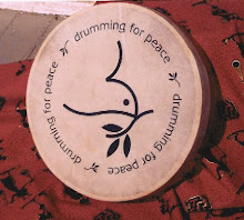 Drumming for Peace frame drum