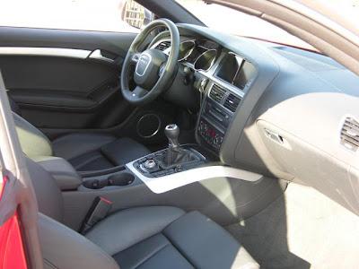 Audi S5 Interior. 2008 Audi S5 interior