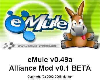 eMule v0.49a Alliance Mod v0.1 Beta