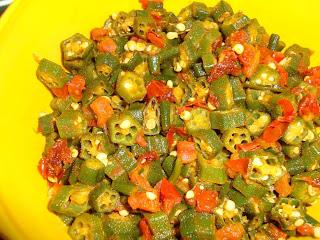 Tomato Bhindi Masala