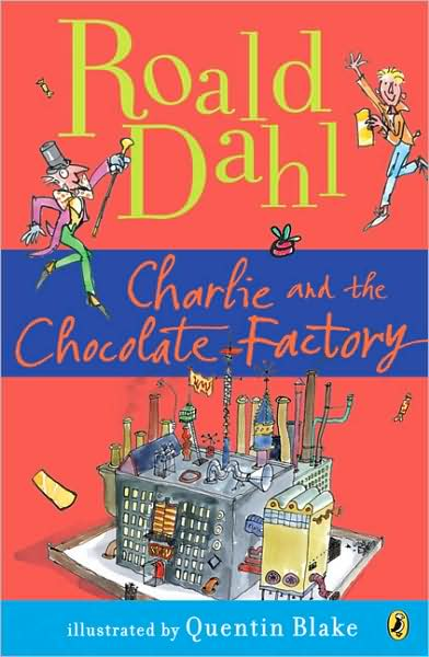 Dust jacket charlie and the chocolate factory roald dahl