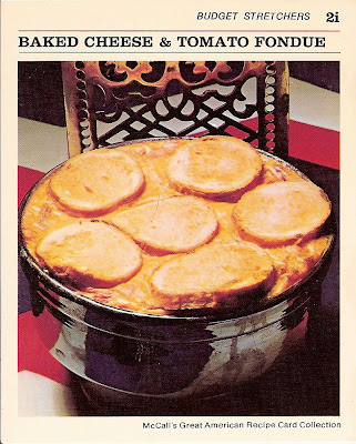 Family Night Dinner Ideas: Baked Cheese & Tomato Fondue