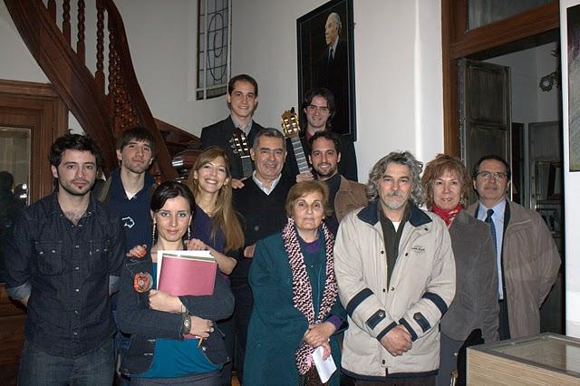 En la Fundación Borges