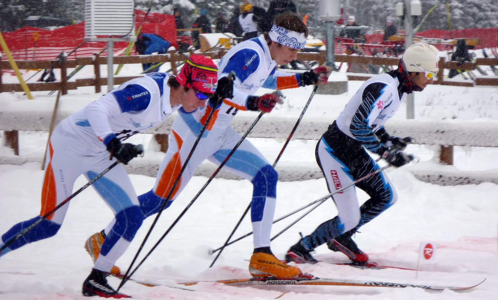 Kate Barton Ey >> Burke Mountain Academy Nordic Ski Team: First Race Of The Season- First Place Of The Season