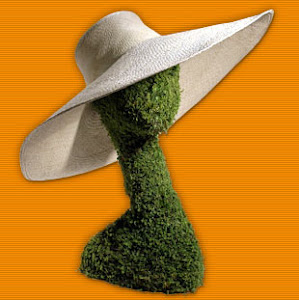 Topiary head