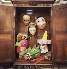 Masks in the Armoire