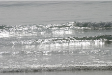Silvery waves