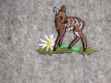Fawn Embroidery on Felt
