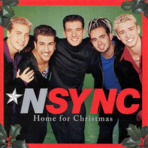 NSYNC Merry Christmas  Happy Nsync Home For Christmas Album