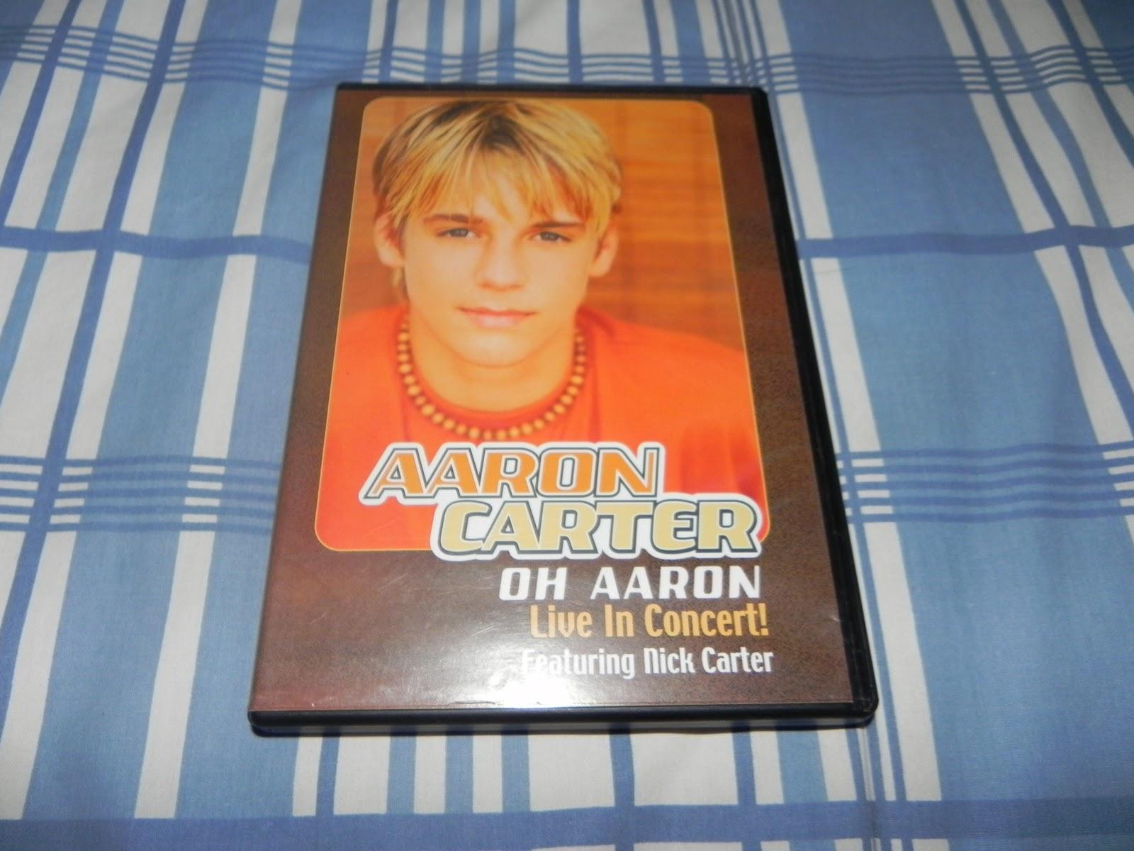 Aaron Carter oh Aaron Dvd oh Aaron Live in Concert