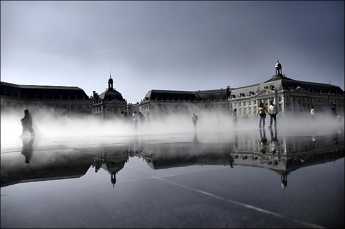 Bordeaux bordeaux la plus belle ville for Miroir d eau bordeaux