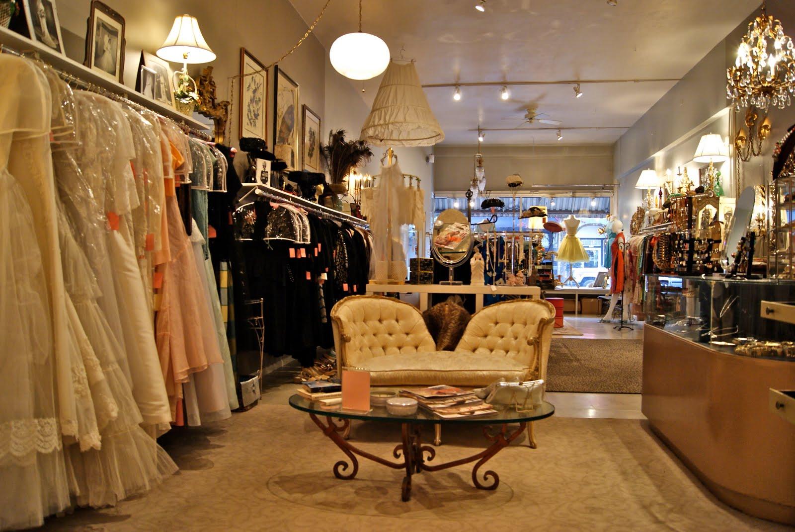 xtabay vintage clothing boutique - portland, oregon: march 2010