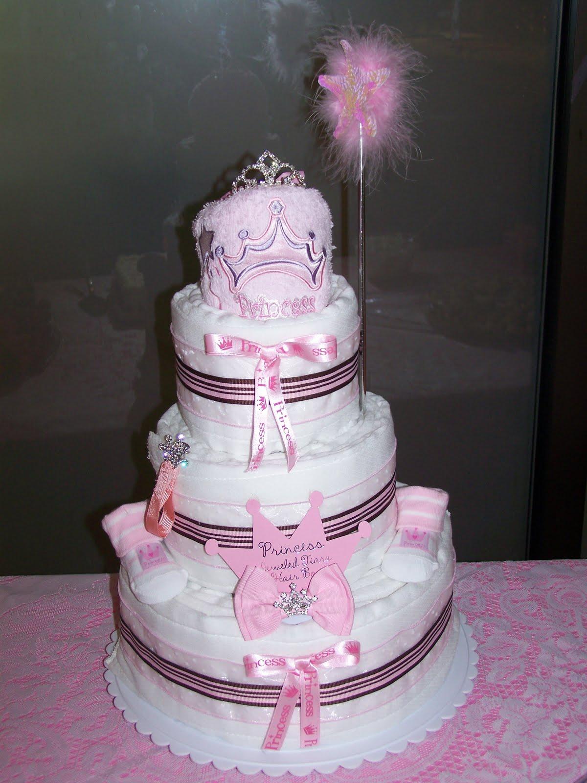 Too Cute Diaper Cakes