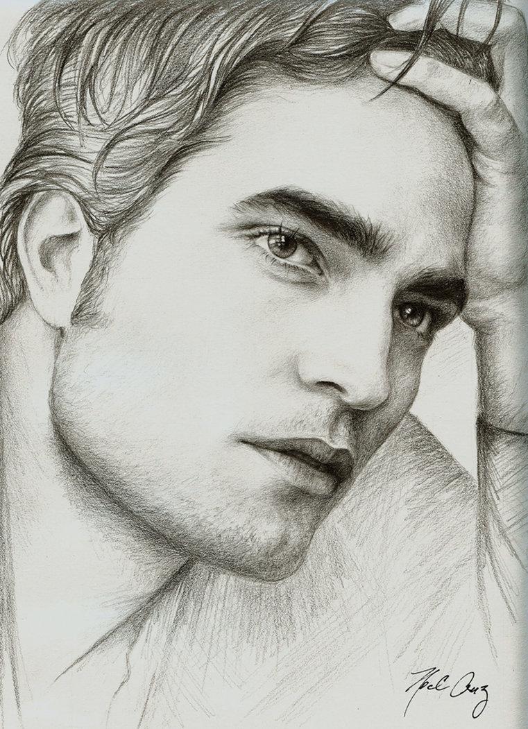 ROBSTENsessed -BilingualBlog: Robert Pattinson and Edward Cullen Fan Art
