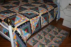 conjunto de manta com tapete