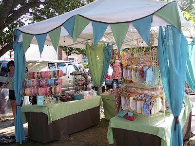 Sewetsy gearing up for craft show season for Display tents for craft fairs