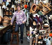 Albertus Swanepoel fashion Hat