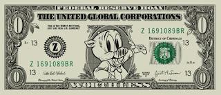 zero dollar bill by brian romero