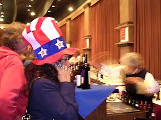 Election Night '08 at the Flamingo ballroom