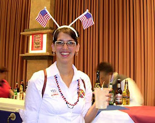 Election Night '08 at the Flamingo ballroom