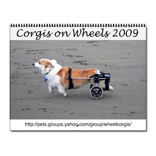 Wheelcorgis 2009 wall calendar
