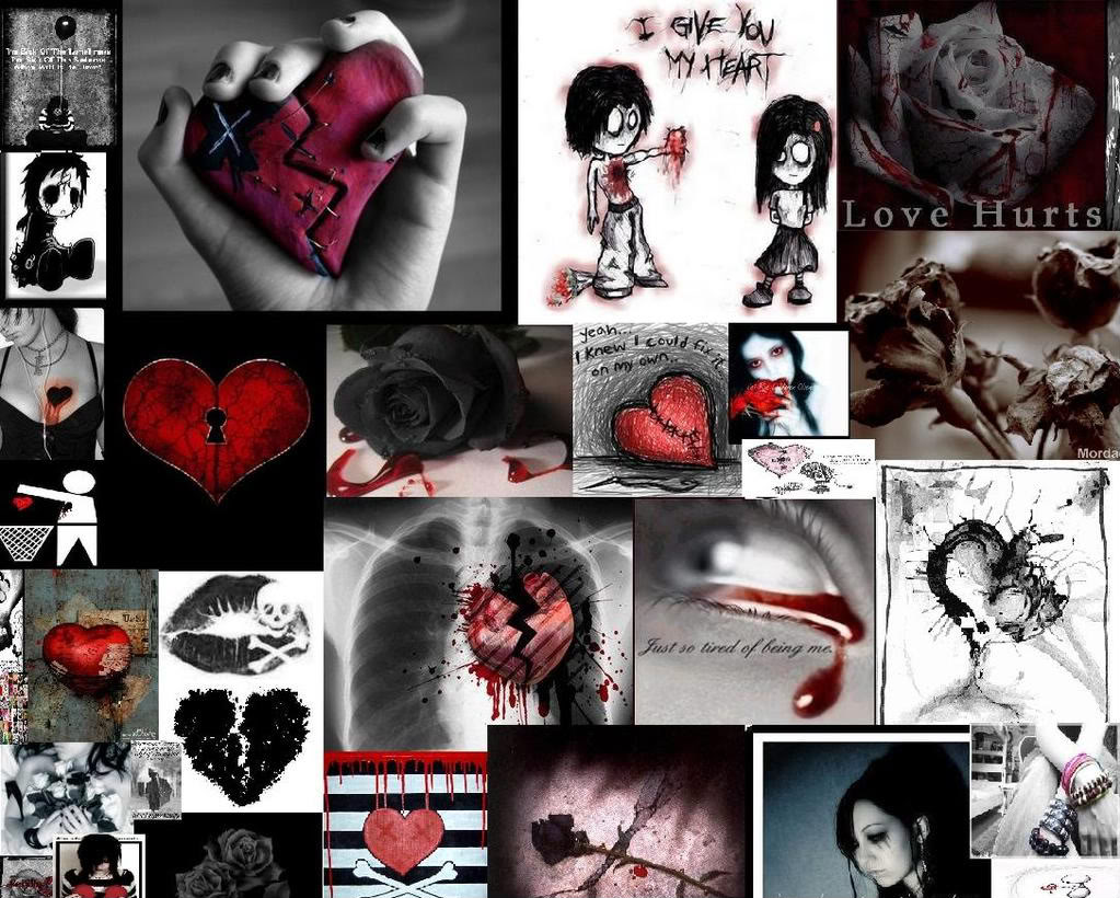 emo love hurts quotes