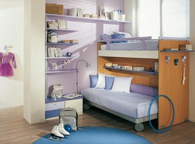 Home Decorating Ideas: Bright Kids Room Ideas from Sangiorgio Mobili