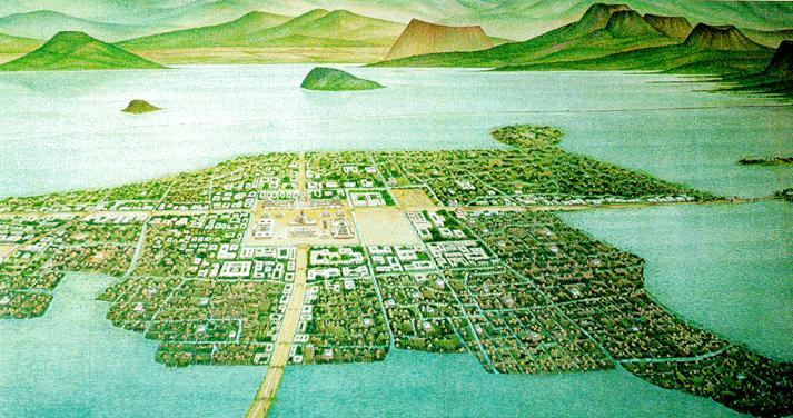 The Aztec Civilization: Aztec Environmentaztec city