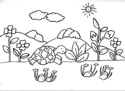 Nuevas l minas did cticas dibujos para imprimir y for Dibujos de jardines