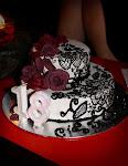 Karmen's Anna Sui Themed Cake