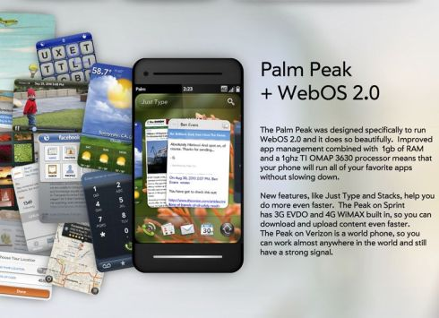 Palm Peak – Sprint 4G Design thinnest sliding phone Seen On www.coolpicturegallery.us