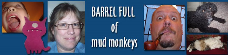 Barrel Full of Mud Monkeys