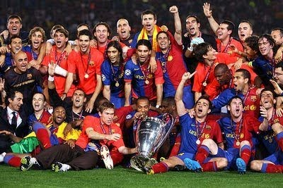 Barcelona - The Phenomenal Team of the Year 2008/2009