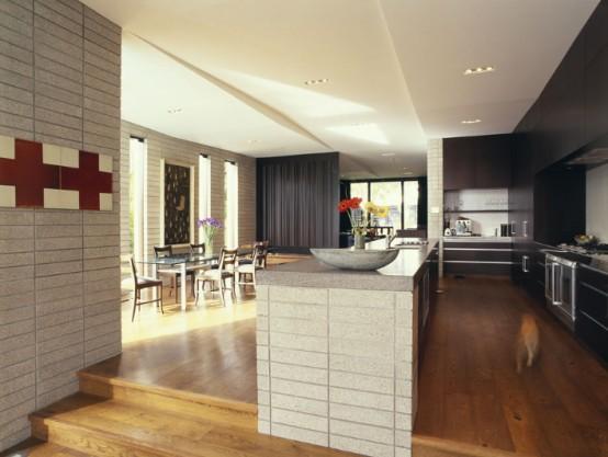 Home interior design house design with sculptural cast for Precast home designs