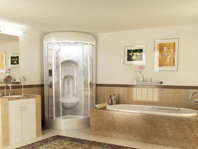 Luxurious Bathroom Lighting Fixtures and Furniture Design ...
