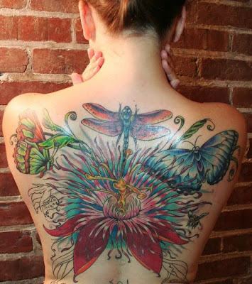 Beautiful Japanese Tattoo for Girls
