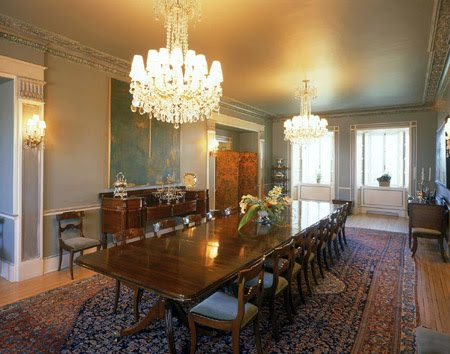 Formal dining room decoration ideas for Formal dining room design ideas